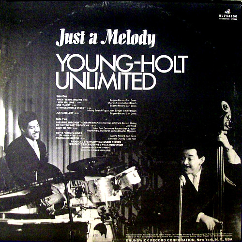 "Young Holt Unlimited : Album "" Just A Melody "" Brunswick Records BL-754150 [ US ]"
