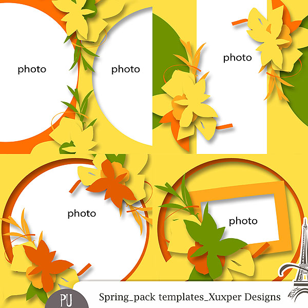 Templates Spring by Xuxper Designs