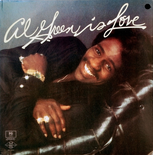 "Al Green : Album "" Al Green Is Love "" Hi Records ‎SHL 32092 [ US ]"