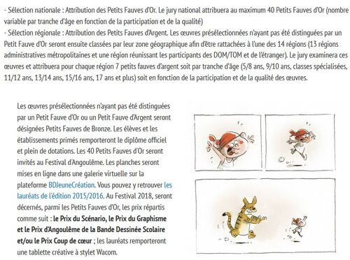 Concours BD scolaire (Angoulême)