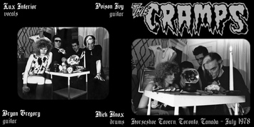 Le choix des lecteurs # 111: The Cramps - Horseshoe Tavern - Toronto - 21 Juillet 1978