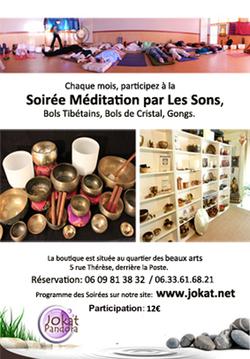 Soirées bols chantants à Montpellier