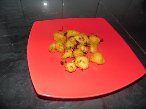 Fruit à pain aux lardons et oignons cuisson actifry