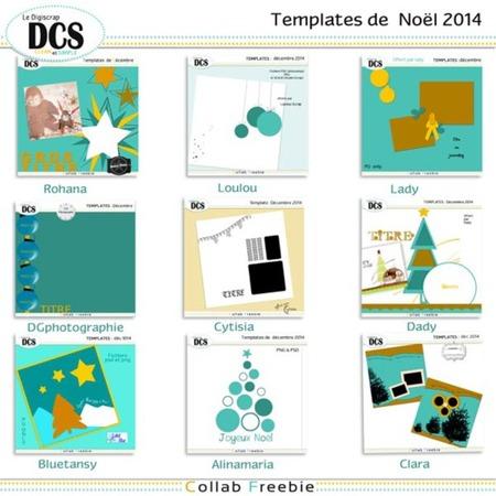 DCS: Les templates de Noël