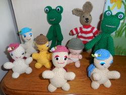 Petits personnages au crochet