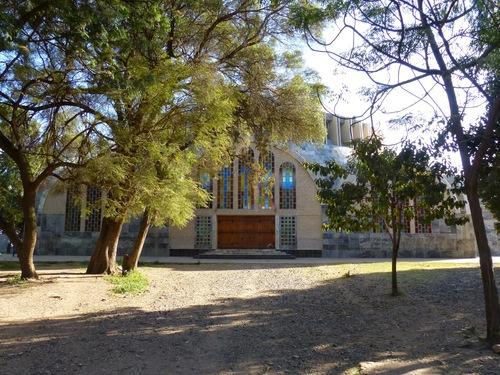 la nouvelle cathédrale d'Aksoum
