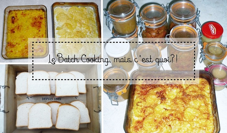 Le Batch Cooking, mais c'est quoi?!