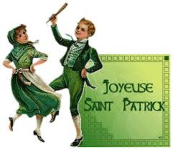 **    FÊTE de la St PATRICK..**