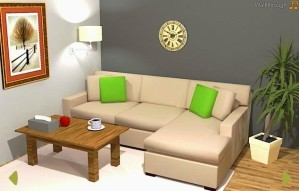 Nordic living room escape