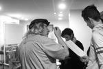 Photos repétition des Crieurs publics / © Jean-Paul Guimbretière