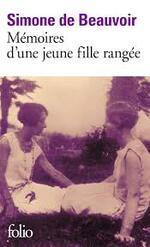 Mémoires d'une jeune fille rangée - Simone de Beauvoir -