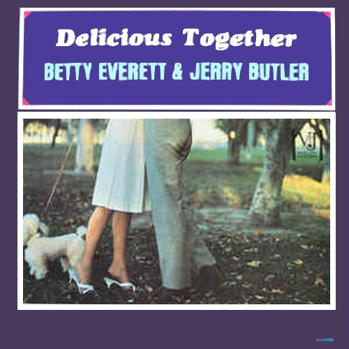 "Betty Everett & Jerry Butler : Album "" Delicious Together "" Vee Jay Records VJLP 1099 [ US ]"