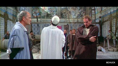 L'EXTASE ET L'AGONIE (1965) partie 1