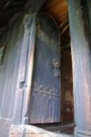 Urnes-détail de la porte
