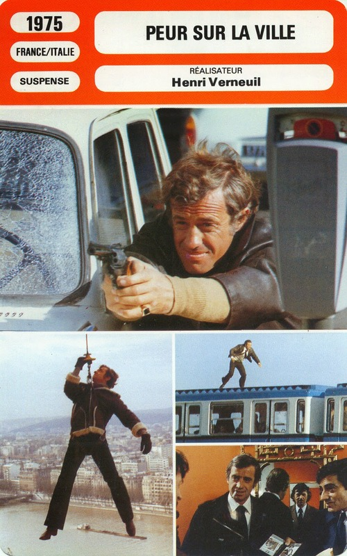 PEUR SUR LA VILLE - JEAN PAUL BELMONDO ET HENRI VERNEUIL BOX OFFICE 1975