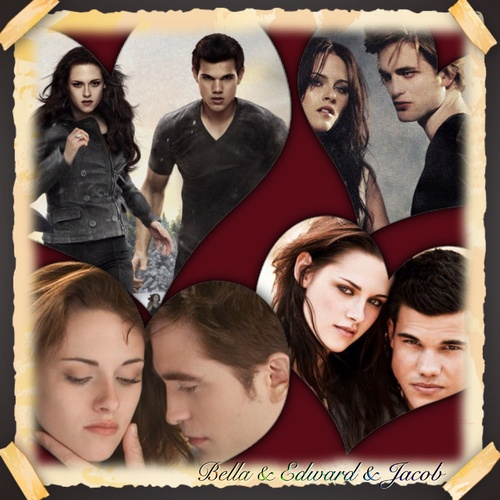 Edward, Jacob et bella