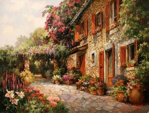 Peinture de : Guy Gantner