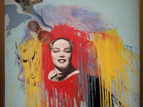 Exposition Dali à beaubourg et çantier des Halles