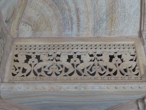 Le palais Man Mandir de Gwalior; l'ntérieur du fort; suite.