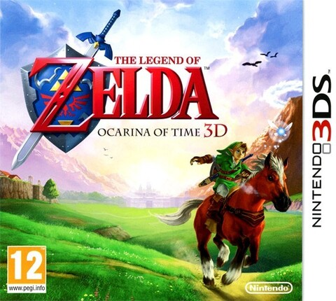 The Legend of Zelda OOT, Nintendo 3DS
