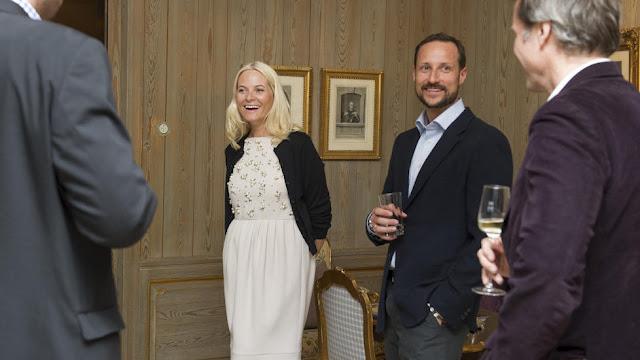 Mette Marit, Haakon et l'explorateur
