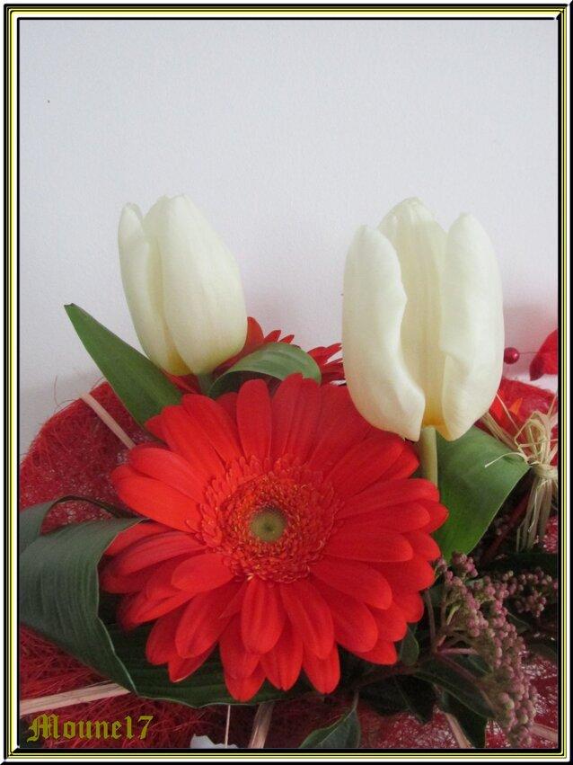 Compositions florales de février et mars 2017