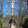 FAUROUX Au lieusit ST ROMAIN la croix devant  l'église MARS 2017 photo mcmg82