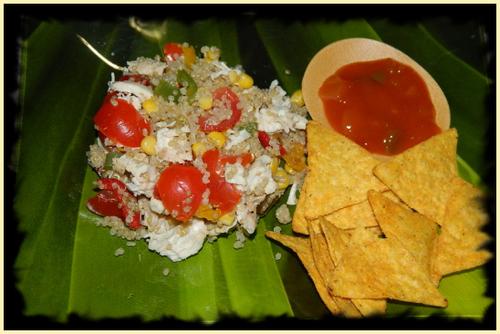 Salade de Quinoa au poulet