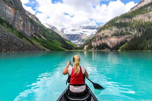 BANFF. LAKE LOUISE (ALBERTA)  Voyages)