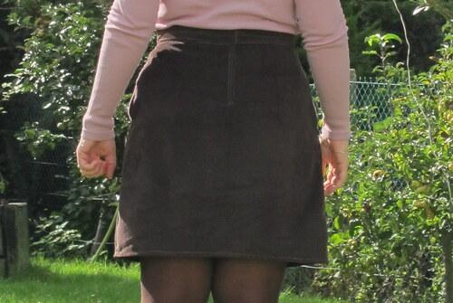 Ma jupe d'automne - le défi