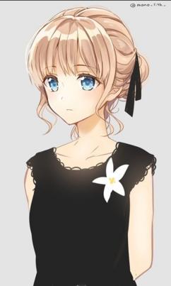 """Résultat de recherche d'images pour """"fille blonde mangas coupe carré"""""""