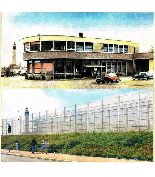 La gare routière détruite en 1996