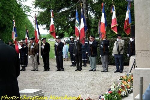 La Cérémonie 2013 au Monument de la Forêt...