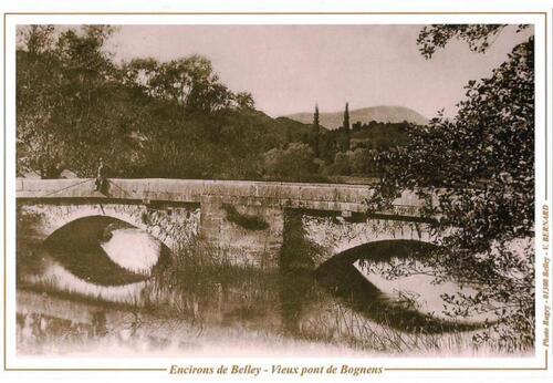 Le pont de Bognens