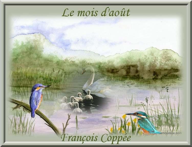"""""""Le mois d'Août"""" poème de François Coppée"""