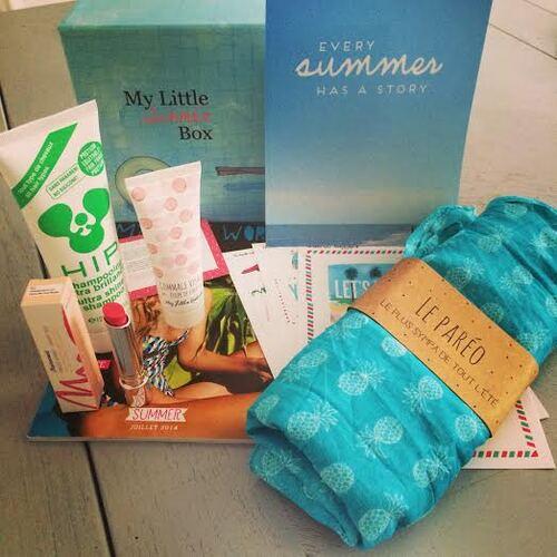My Little Box de Juillet Spoiler * My Little Summer Box
