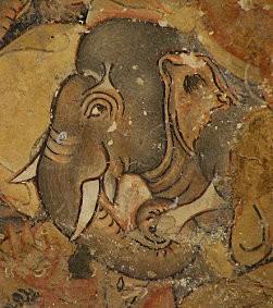 Ajanta-fresques-mural