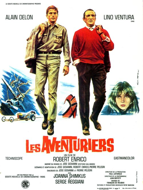 LES AVENTURIERS - BOX OFFICE ALAIN DELON 1967