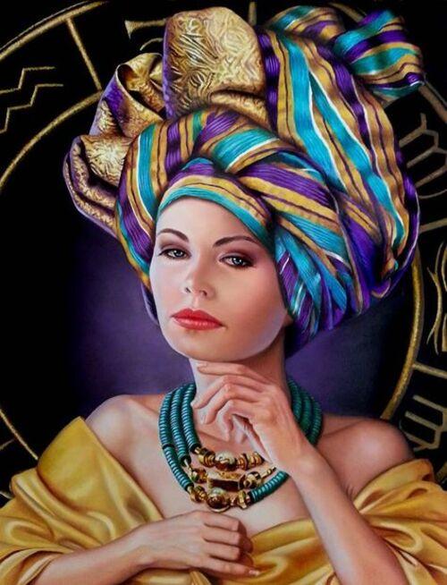 Coiffures foulards