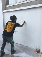 La fresque murale des CE1 B