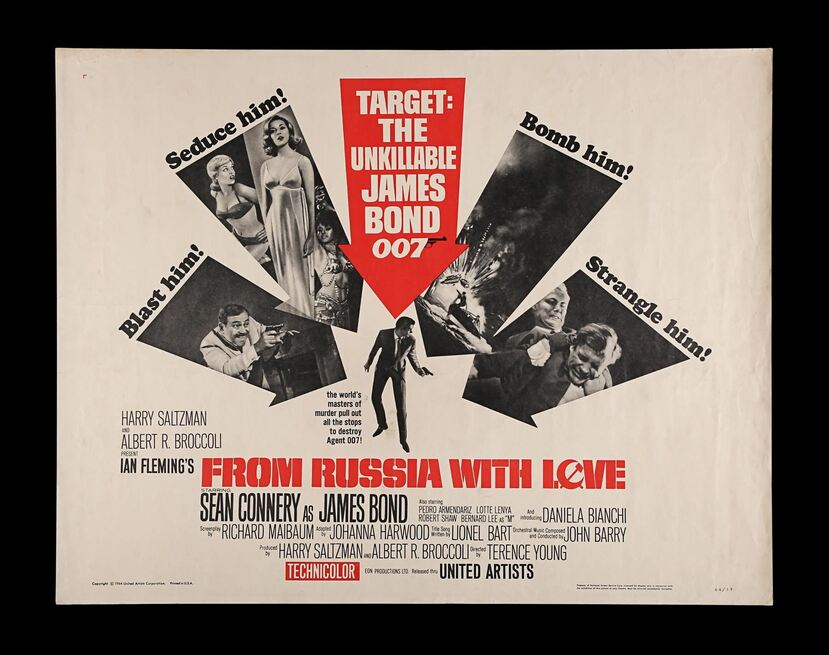 FROM RUSSIA WITH LOVE BOX OFFICE USA 1964