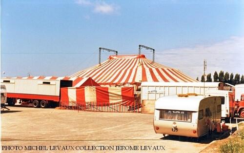 le cirque Jean Richard à La Baule en aout 1978 ( Photos Michel et Jérôme Levaux)
