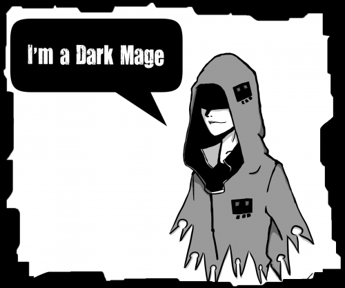 I'm a dark mage