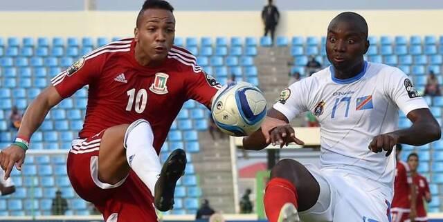 La RD Congo a battu la Guinée équatoriale et termine troisième de la CAN.  (AFP)