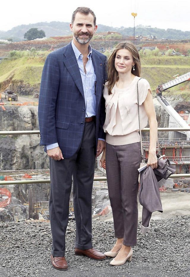 Bonus: Felipe et Letizia à Panama