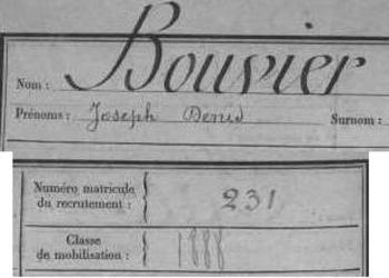 Bouvier Joseph  classe 1888  matricule 231.JPG  fb