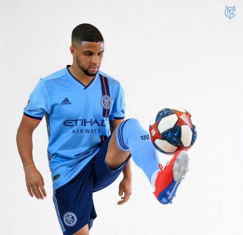 maillot New York City FC bleu 2019-2020 domicile