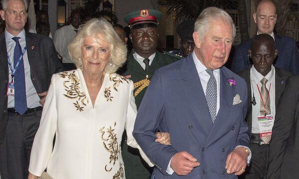 Charles et Camilla en Gambie