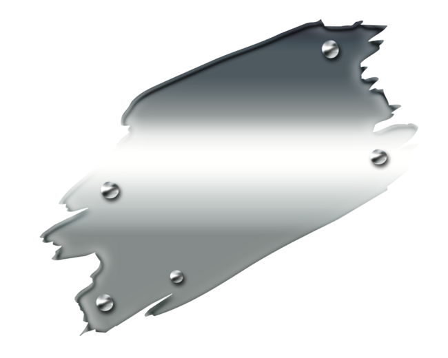 Plaques Métal no:7