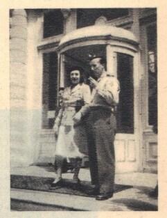 * Etape n° 50 - Alpes Maritimes 27 Avril- 8 Mai 1945 - Descente de la DFL en ITALIE - le B.M. 5 dans le Mentonnais